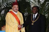 Entretiens en tête-à-tête entre SM le Roi et le Président Alassane Ouattara