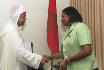 Sainte-Lucie salue son partenariat avec le Maroc, aspire à le consolider davantage dans tous les domaines