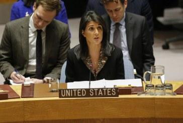 Jérusalem: largement condamné à l'ONU, Washington ne cache pas sa colère