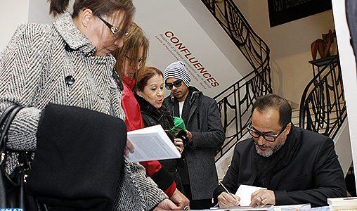 """Abdelhak Najib signe à Casablanca son premier recueil de poésie """"Le pays où les pierres parlent"""""""