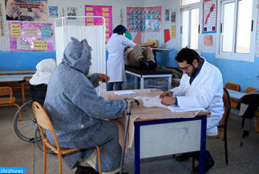 Guercif: Caravane médicale de la Fondation Mohammed V pour la Solidarité au profit des familles démunies