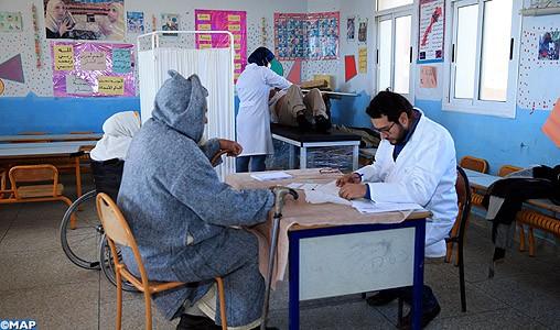 Chichaoua : Caravane médicale pluridisciplinaire au profit des personnes vulnérables