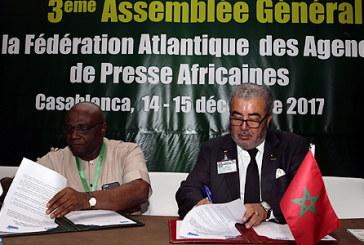 Signature d'accords de coopération entre la MAP et les agences de presse nigériane et namibienne