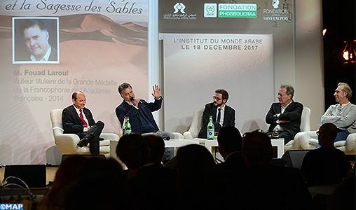 L'influence du désert marocain sur l'œuvre de Saint Exupéry au centre d'un événement culturel au siège de l'IMA à Paris