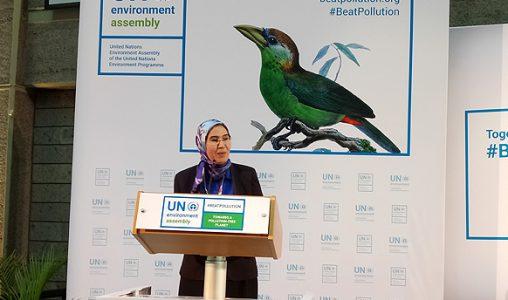 UNEA-3 à Nairobi : Mme El Ouafi met en avant la contribution du Maroc à la dynamique mondiale pour la protection de l'environnement