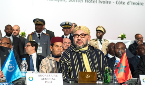 Sommet UA-UE : Le message royal met l'accent sur l'importance de la coordination pour relever les défis communs