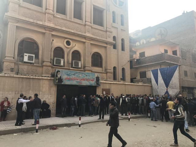 Égypte : Au moins cinq morts dans une attaque contre une église copte au sud du Caire