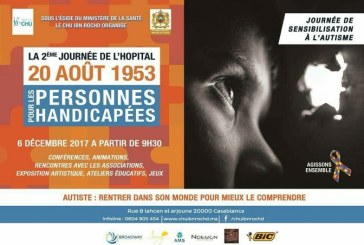 Hôpital 20 Août: Sa 2e journée pour personnes handicapées dédiée aux autistes
