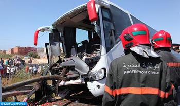 Accidents dans les périmètres urbains: 15 morts et 1.611 blessés du 27 novembre au 03 décembre
