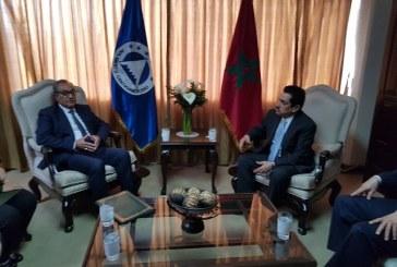 Abderrahim Atmoun, rencontre le Président du Parlement centraméricain au Guatemala