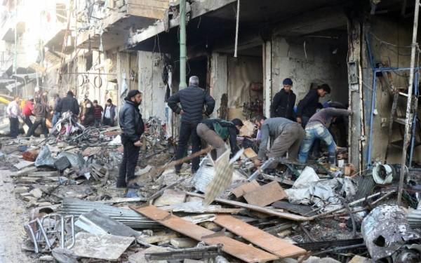 Syrie: 12 civils tués, dont 4 enfants, dans un raid aérien
