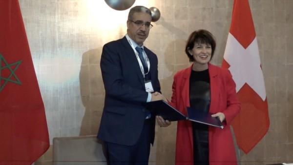 Maroc-Suisse: Nouvel accord dans le domaine énergétique