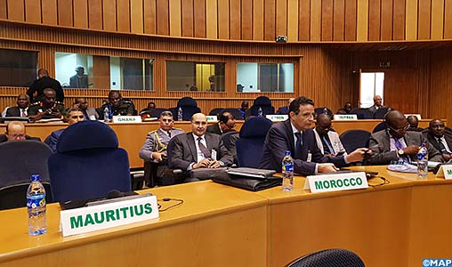 UA : Le Maroc prend part à Addis-Abeba à la réunion des Experts préparatoire à la 10è session ordinaire du CTS sur la défense, la sûreté et la sécurité