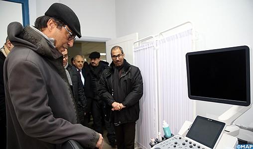 Vague de froid : M. Amara visite le centre hospitalier provincial d'Azrou