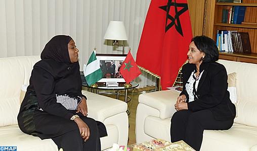 La ministre nigériane déléguée des Affaires étrangères appelle à la réactivation de la commission mixte Maroc-Nigeria