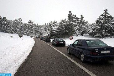 """L'Oriental: Déneigement """"en un temps record"""" des routes suite aux dernières chutes de neige"""
