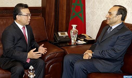 Les relations entre le Maroc et la Corée du Sud connaissent un essor considérable dans différents domaines
