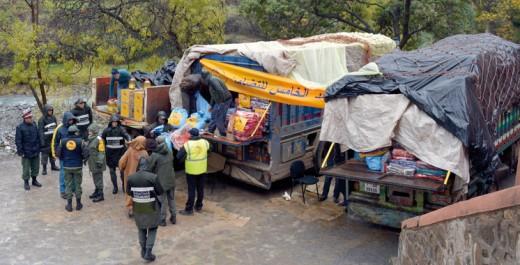 Vague de froid: Distribution d'aides au profit de 993 familles à Khénifra
