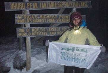 A 23 ans, une Marocaine a défié le Kilimandjaro