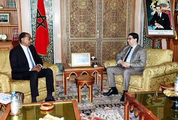 M. Bourita s'entretient avec le Directeur exécutif de l'ONUSIDA