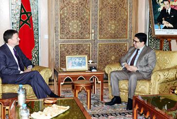 M. Bourita reçoit le nouveau Représentant Spécial du SG de l'ONU et Chef de la Minurso