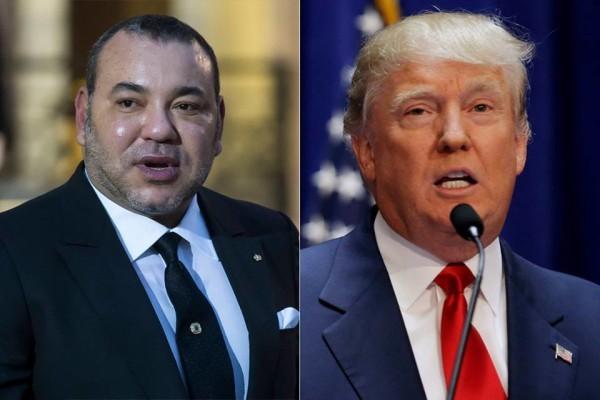 Donald Trump a répondu au message de SM le Roi Mohammed VI sur le cas de Al-Qods