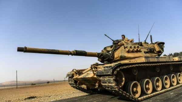 attaques turques en Syrie