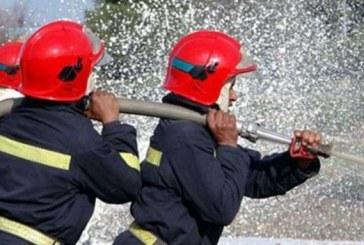 Un incendie maitrisé dans une exploitation agricole à Salé
