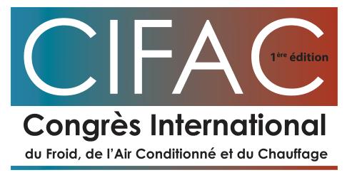 Le premier congrès international du froid, de l'air conditionné et du chauffage, le 14 février à Casablanca