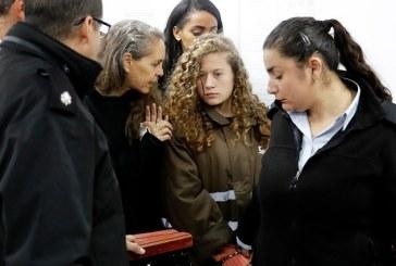 Nour Tamimi en libération conditionnelle mais pas Ahed