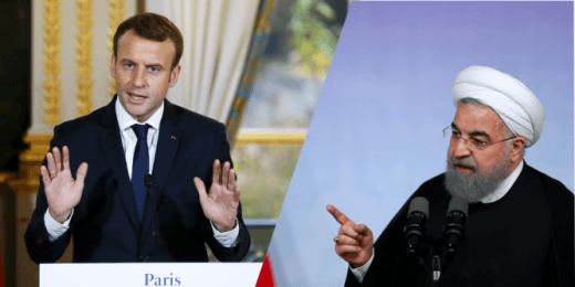 Manifestations en Iran : le président Macron fait part à son homologue iranien de sa préoccupation