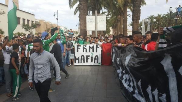 Oujda: Blessés légers et dégâts matériels suite à des échanges de jets de pierres entre supporteurs de deux équipes