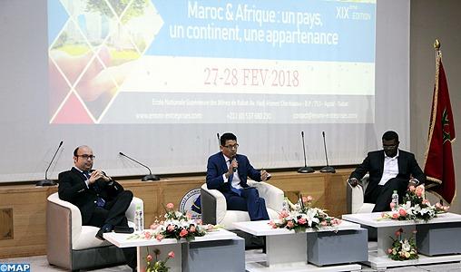 Le Maroc est réellement engagé et mobilisé pour soutenir les efforts de développement de l'Afrique, dans le cadre de partenariats durables, a indiqué, mardi à Rabat, le ministre de l'Énergie, des Mines et du Développement durable, Aziz Rebbah.
