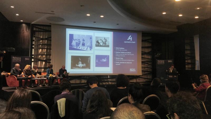 En 2018, l' institut français du Maroc plaide pour un monde ouvert