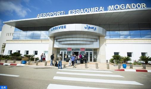 Aéroport international Essaouira-Mogador : Hausse de plus 74 pc du nombre des passagers en janvier dernier