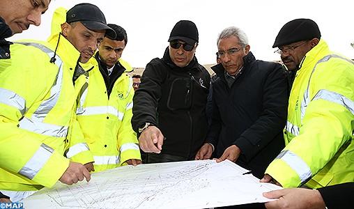 """Province d'Al Hoceima: Les projets routiers de """"Manarat Al Moutawassit"""" permettront d'améliorer les conditions socio-économiques et la sécurité routière"""