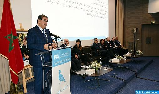 M. Akhannouch: Le RNI œuvre pour proposer aux Marocains un véritable projet de société