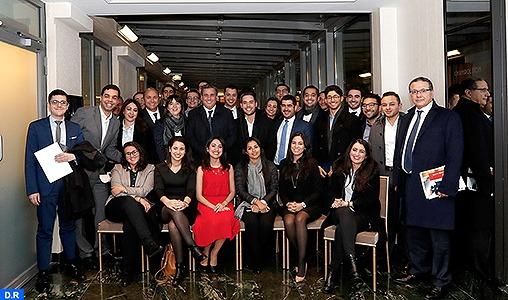Le président du RNI rencontre à Paris des jeunes représentants de «Tariq Ibnou Ziad Initiative»