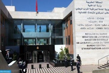 """Arrestation de quatre individus liés à """"Daech"""" s'activant dans les villes de Fès, Casablanca, Kénitra et Midar"""