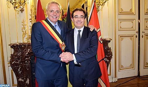 Les préoccupations de la communauté marocaine et la coopération avec la Belgique au centre des entretiens de M. Benatiq à Bruxelles