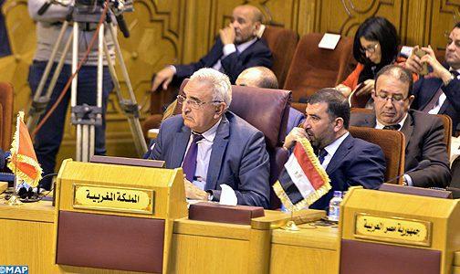 Les Parlements arabes adoptent un texte relatif à la lutte contre le terrorisme