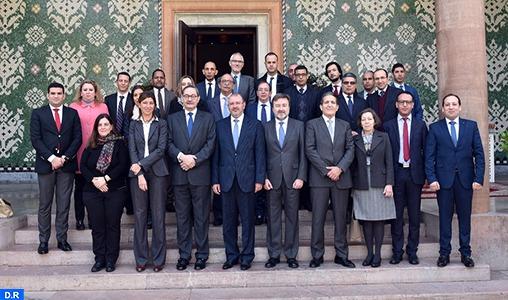 Tenue à Rabat de la 5ème réunion de la commission consultative mixte Maroc-Espagne en matière pénale, civile et administrative