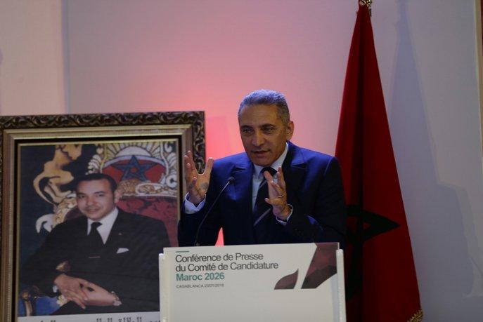 Le Comité de Candidature Maroc 2026 a reçu une délégation de la FIFA