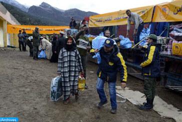 Vague de froid : Distribution de plus de 12.000 quintaux d'orge subventionnée aux agriculteurs d'Ifrane