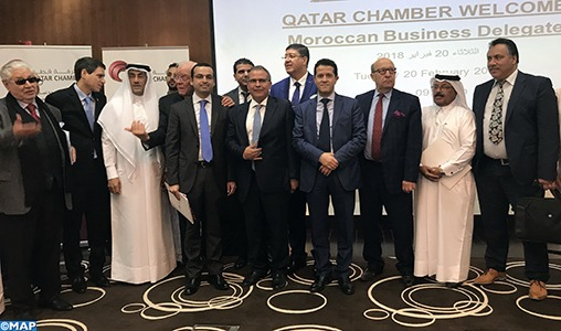 La promotion de l'investissement au cœur d'une rencontre entre hommes d'affaires marocains et qataris à Doha