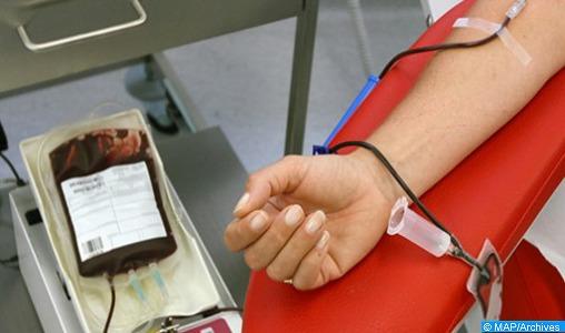 Lancement à Rabat d'une caravane de don de sang sous le thème Le don de sang, une responsabilité de tous