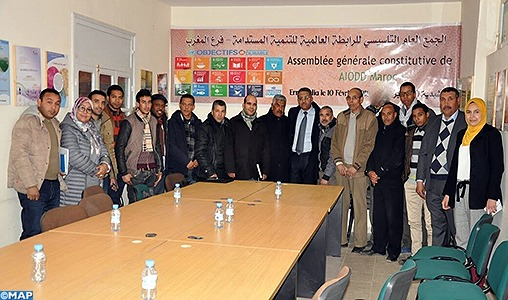 Election de Mustapha Tilioua président de l'antenne marocaine de l'Alliance internationale pour les objectifs du développement durable
