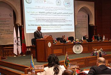 Clôture à Rabat de la 5ème conférence islamique des ministres chargés de l'enfance