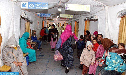 Vague de froid: 98 caravanes médicales au profit de plus de 230.000 bénéficiaires