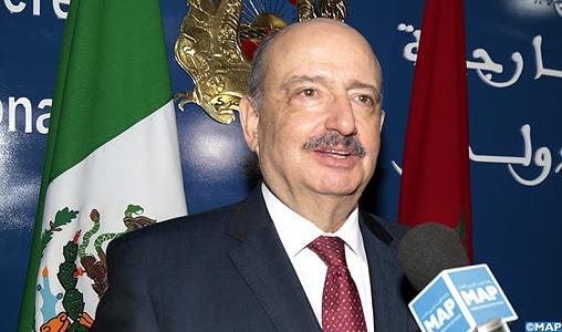 Le Maroc constitue une porte d'entrée en Afrique pour le Mexique